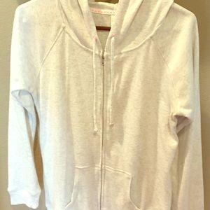 Never worn! No Boundries light fleece hoodie.